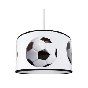 Lampdar Detský luster na lanku FOTBALL 1xE27/60W/230V