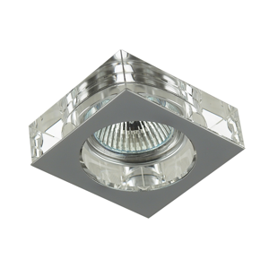 Luxera Downlight  chróm 1xGU10/50W