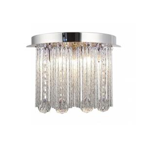 Auhilon LED Krištáľové stropné svietidlo AZAHAR 7xLED/0,2W + G9/40W/230V
