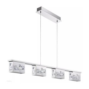 Auhilon LED Krištáľový luster na lanku TRESANA 4xLED/5,8W/230V