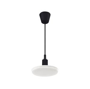 Wojnarowscy LED Luster na lanku ALBENE 1xE27/18W/230V čierna