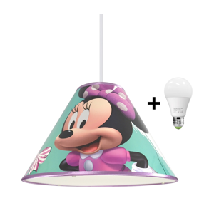 Hermanex LED Luster na lanku MINNIE MOUSE 1xE27/15W/230V