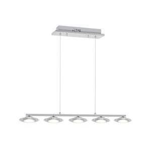 Milagro LED Luster na tyči ELLIPSE 5xLED/5W/230V