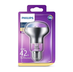 Philips LED Reflektorová žiarovka Philips E27/4,5W/230V