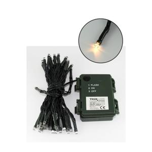 Baterie centrum LED Vianočná vonkajšia reťaz 5,4 m 50xLED/3xAA 2700 K IP44