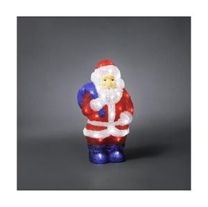Exihand LED Vonkajšia vianočná dekorácia SANTA CLAUS 48xLED/230V/24V IP44