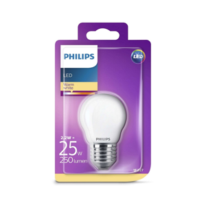 Philips LED Žiarovka Philips E27/2,2W/230V