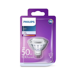 Philips LED Žiarovka Philips GU5,3/8W/12V 4000K