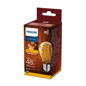 Philips LED Žiarovka VINTAGE Philips A60 E27/5,5W/230V 2700K