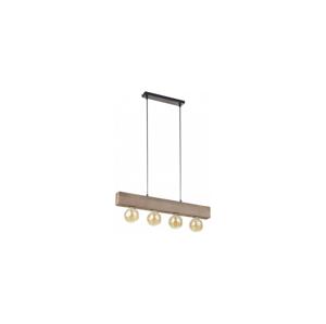 TK Lighting Luster na lanku ARTWOOD 4xE27/60W/230V