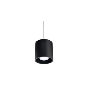 Sollux Luster na lanku ORBIS 1 1xGU10/40W/230V čierna