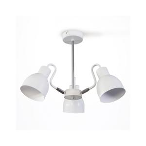 Light4home Luster na tyči REFLECTOR 3xE27/60W/230V biely