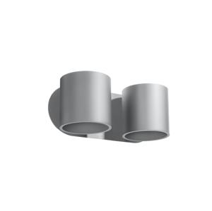 Sollux Nástenné bodové svietidlo ORBIS 2xG9/40W/230V šedá