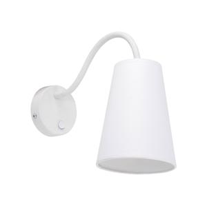 TK Lighting Nástenné svietidlo WIRE WHITE 1xE27/60W/230V