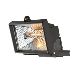 FARO Halogénový reflektor čierny 1xR7S78/150W/230V