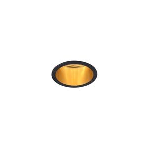 MAXLED Rámik pre podhľadové svietidlo LILA GU10/GU5,3/MR16/50W/230V/12V čierna/zlatá