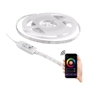 RGB LED Stmievateľný vonkajší pásik Wi