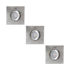Výrobce po 1 ks SADA 3x LED Kúpeľňové podhľadové svietidlo 3xLED/5,5W/230V IP23