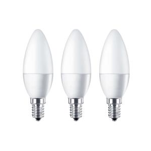 Brico SADA 3x LED Žiarovka B40 E14/5,7W/230V 2700K