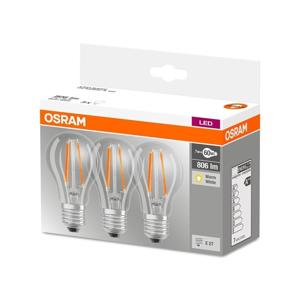Osram SADA 3x LED Žiarovka VINTAGE E27/7W/230V 2700K