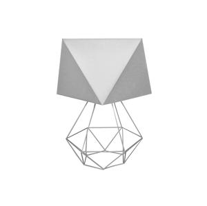 Helam Stolná lampa ADAMANT SMALL 1xE27/60W/230V šedá
