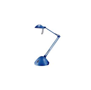ARGUS light Stolová lampa ELA 1xGY6,35/50W/230V/12V modrá