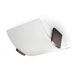 Sollux Stropné svietidlo EMILIO 2xE27/60W/230V biela/wenge