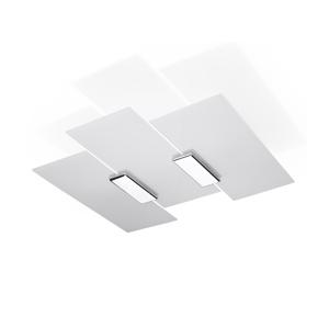 Sollux Stropné svietidlo FABIANO 3xE27/60W/230V biela/chróm
