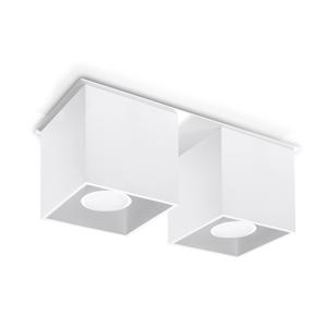 Sollux Stropné svietidlo QUAD 2 2xGU10/40W/230V biela