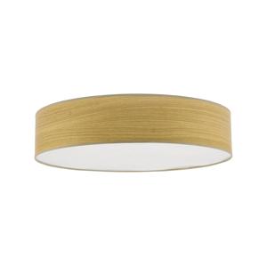 TK Lighting Stropné svietidlo RONDO WOOD 4xE27/60W/230V béžová